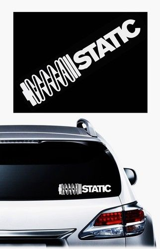 Static coilovers stickers for cars http customstickershop com