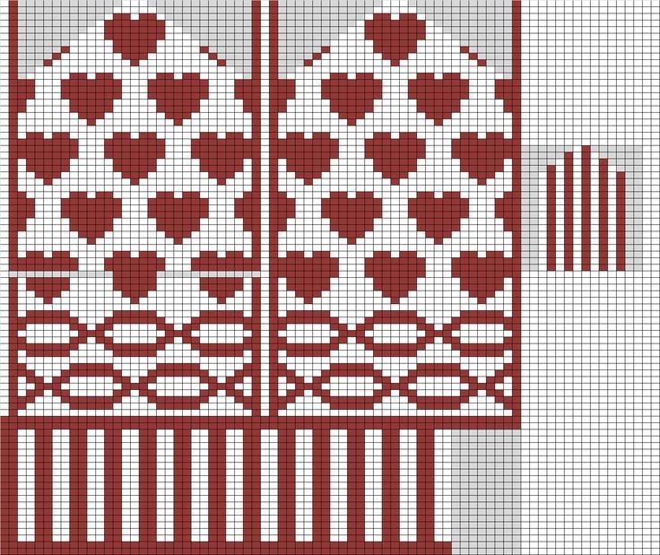 Knitting With Karma: Valentine's Mitten - Free Pattern