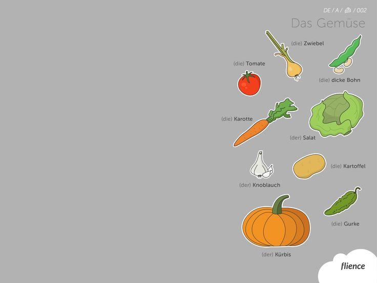Food-vegetables_002_de #ScreenFly #flience #german #education #wallpaper #language