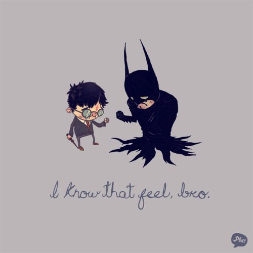 Awww, for the orphansPop Culture, The Artists, Living Spaces, Harrypotter, Funny, Batman, Harry Potter, Super Heroes, Feelings