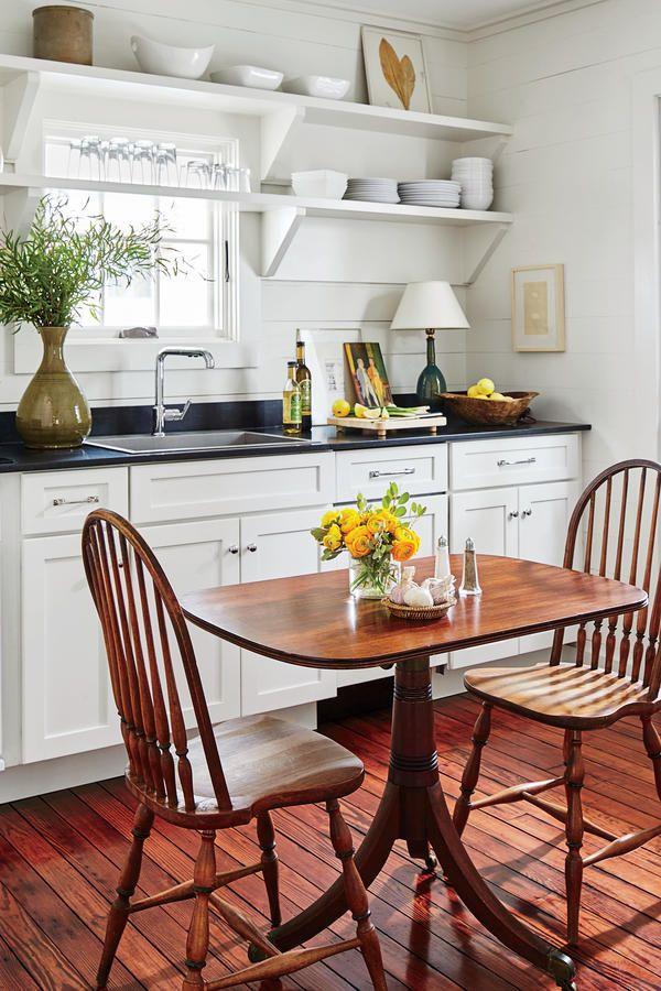 Monday Inspiration. Small Cabin KitchensSmall Cottage KitchenSmall White ... Part 84