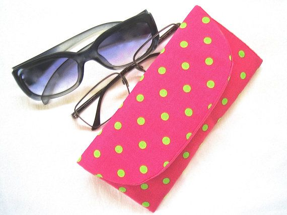 Sunglasses Spectacle Case Handmade Fabric by ArabellaBlossomsBags, $30.00