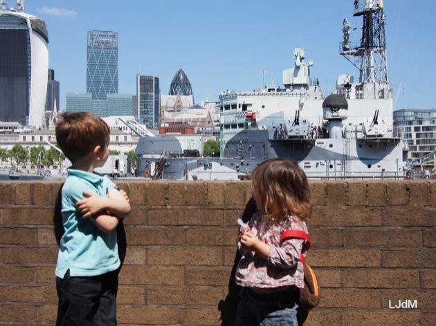 Voyage à Londres avec les enfants