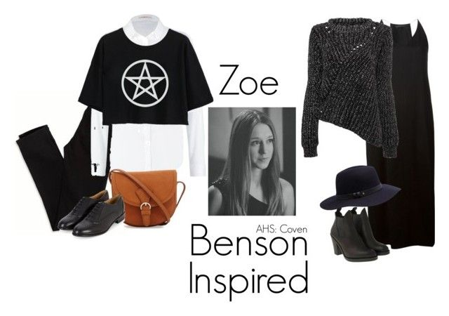 """""""Zoe Benson"""" by foodandfashionforthought ❤ liked on Polyvore featuring American Eagle Outfitters, Lee, The Row, Acne Studios and Witchery"""