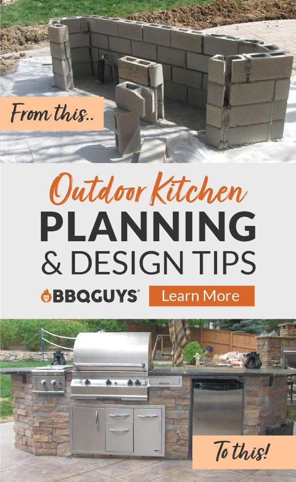 Outdoor Kitchen Ideas Inspiration Bbqguys Outdoor Kitchen Plans Build Outdoor Kitchen Outdoor Kitchen