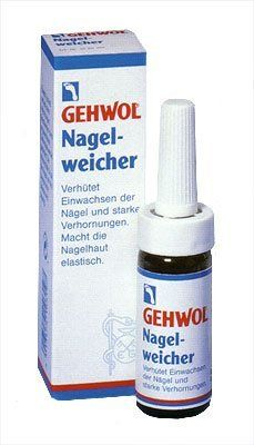 Gehwol Med Nail Softener - 0.5 oz by Gehwol. $11.60. Quickly & carefully softens cornification. Alleviates discomfort with ingrown toenails. The painful pressure of the nail on the nail bed is eliminated.. Save 62%!