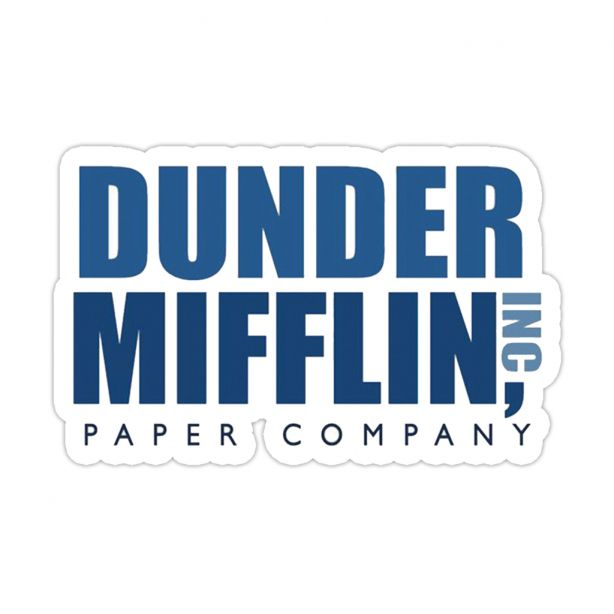 Dunder Mifflin Logo Png And Download Free Png Dunder Mifflin Logo Png Images In 12 Dunder Mifflin Logo Png Dunder M Dunder Mifflin Honey Sticker Mifflin
