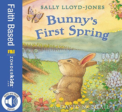 Bunny's First Spring:   Easter Story, written by bestselling author Sally Lloyd-Jones, is a wonderful story told through the perspective of nature that prompts children to explore the joy and excitement in the resurrection of Jesus. Alison Jay's whimsical illustrations reflect the beauty of nature and the immense adoration God has towards us, and Sally Lloyd Jones' inspirational text moves along with the creatures that prompt children to celebrate the good news of Jesus Christ.