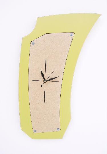 vento wall clock - modern, abstract wall clock