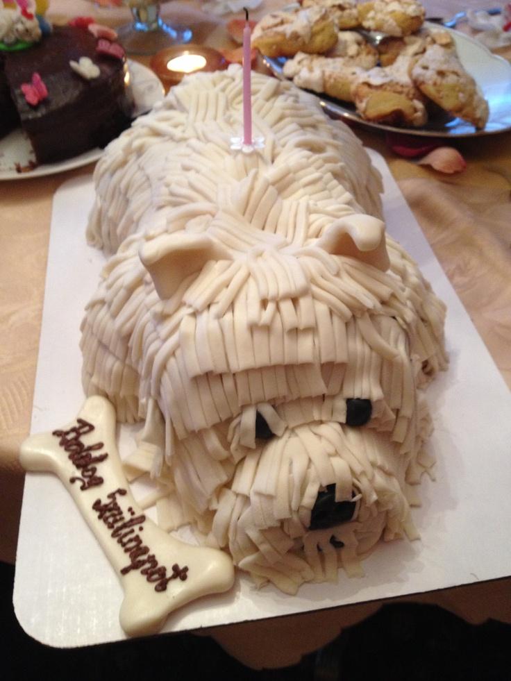 Top 25 Ideas About Westie Cakes On Pinterest Birthdays