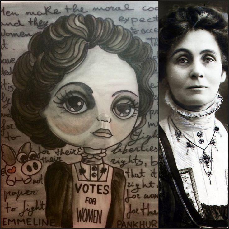 https://flic.kr/p/S8vxHk | Feminist icons series: Emmeline Pankhurst  Pupa Tattoo Granada | instagram : instagram.com/pupa_tattoo/  Web: www.pupatattoo.es/  Citas: 958221280  #tattoo #tattoos #tatuaje #tatuajes #tattoogranada #ink #inked #inkaddict #timetattoo #tattooart #tattooartists