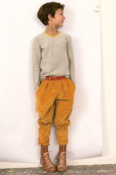 MACARONS  ;jumper tibor ;pearl knitSweatshirt like t-shirt ;in pearl knit by…