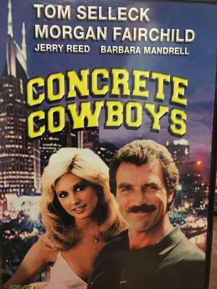 CONCRETE COWBOYS Tom Selleck Jerry Reed Morgan Fairchild Ray Stevens DVD 90328902285 | eBay