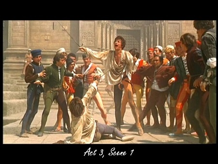 mercutio in romeo and juliet act Before mercutio's death in act three early psychoanalytic critics saw the problem of romeo and juliet in terms of romeo's impulsiveness.