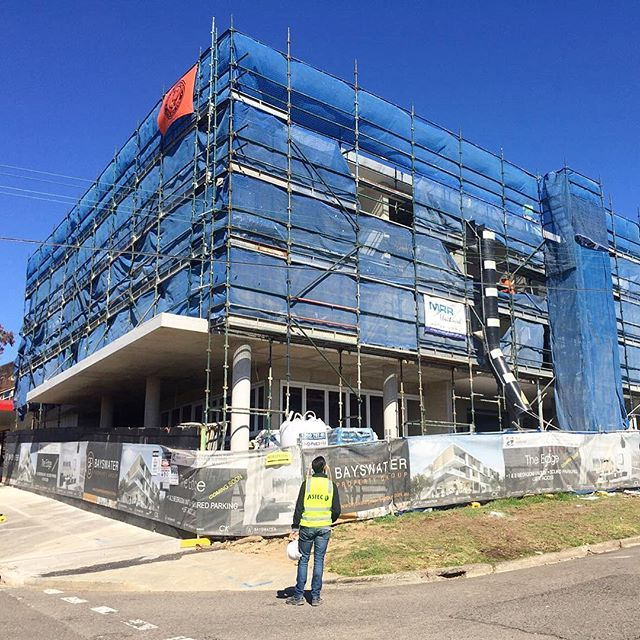 A great site inspection and meeting at our Revesby Heights project. Big thanks to Bayswater for using our engineered coatings and MRX Group for the application.  #great #render #project #architecture #archilovers #architecturelovers #architect #design #designer #thursday #art #astec #paints #sydney #construction #living #picoftheday #thankful #blessed #highend #lovethiscity #dincel #apartments #luxury #morning #follow #apartments #cityliving #thankyou