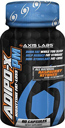 Axis Labs AdipoX PM Capsules 60 Count ** Want additional info? Click on the image.