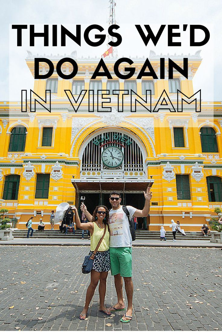 We thoroughly enjoyed our trip to South and Central Vietnam and would return in a heartbeat.