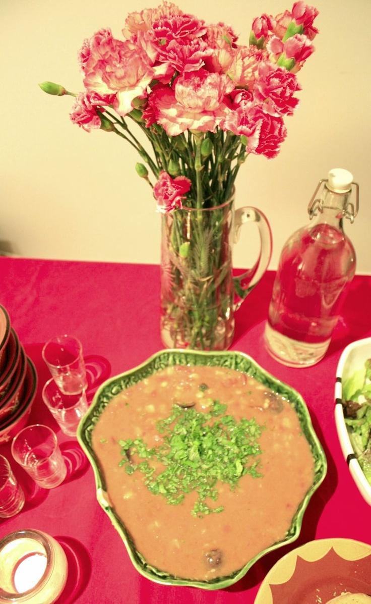 Sopa da pedra       //     typical portuguese soup