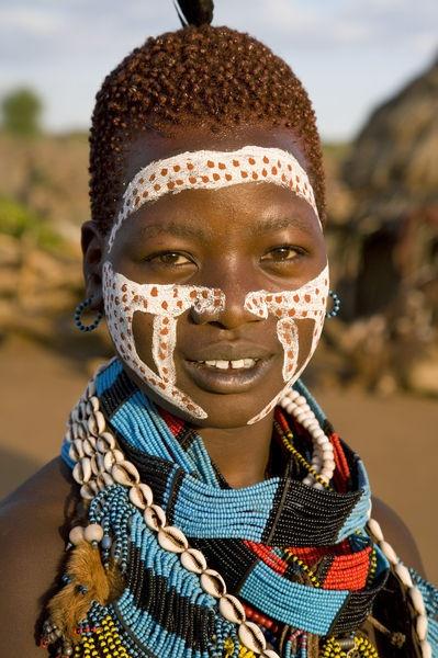 Africa | Hamer Tribe, Denbiti Village, Lower Omo Valley, Southern Ethiopia | © Gavin Hellier / Jon Arnold Images