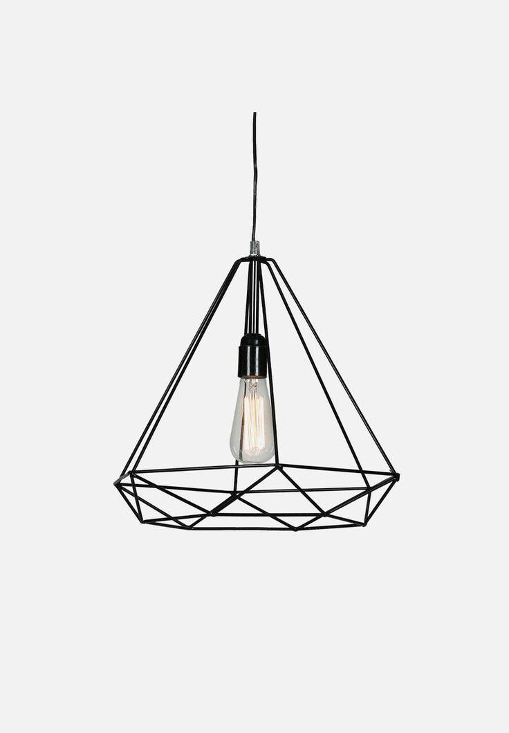 Diamond Pendant - Black Nolden Bros Lighting | Superbalist.com