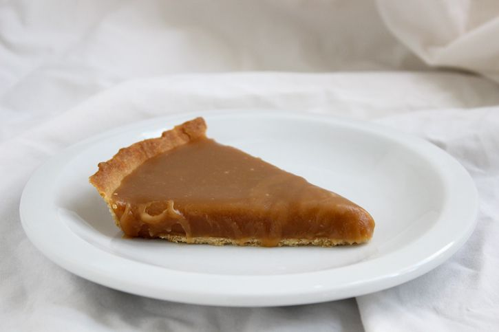salted butter tart - make it as a tart not pie, this is one with cream ...