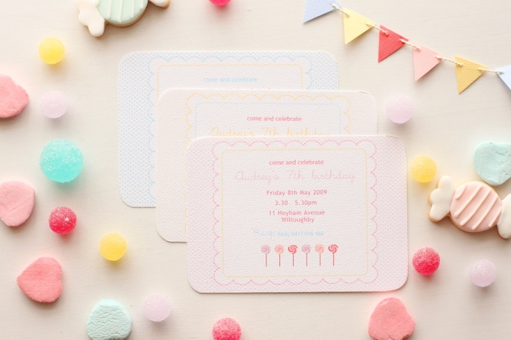 Candy party  www.imprintables.com.au