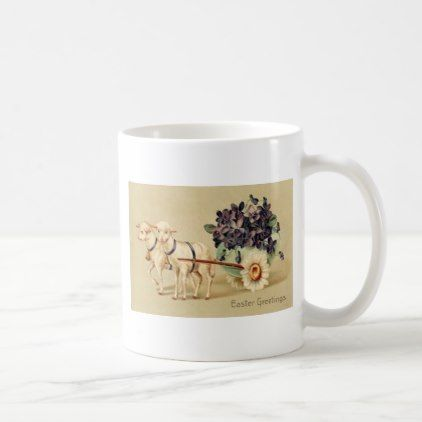Victorian mugs on pinterest lace slip water pitchers and rustic victorian retro vintage easter greetings coffee mug retro gifts style cyo diy special idea negle Choice Image