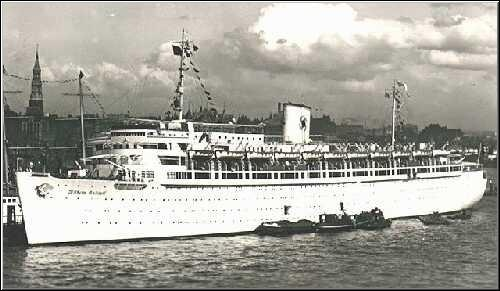 Wilhelm Gustloff, MV    —    Greatest ship disaster in recorded maritime history with an estimated 9,400 people were killed in the sinking