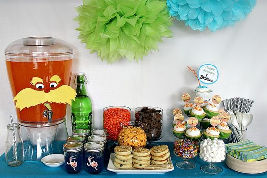 How to host an environmentally friendly Dr. Seuss 'The Lorax' party for kids.