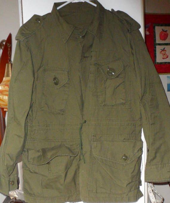 Vintage New Canadian Forces Lightweight Combat Jacket Olive
