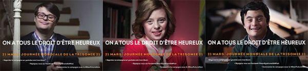 """Campagne """"Chère future maman"""" pour la journée mondiale de la trisomie 21"""