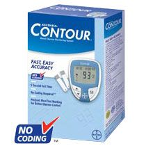 Ascensia CONTOUR Blood Glucose Monitoring System, Bayer Diabetes Care