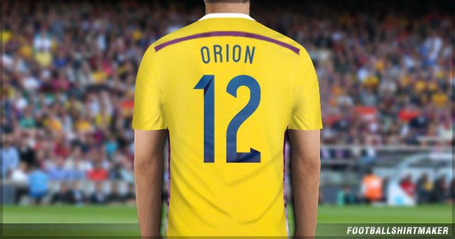 La camiseta de arquero de Argentina de Orion