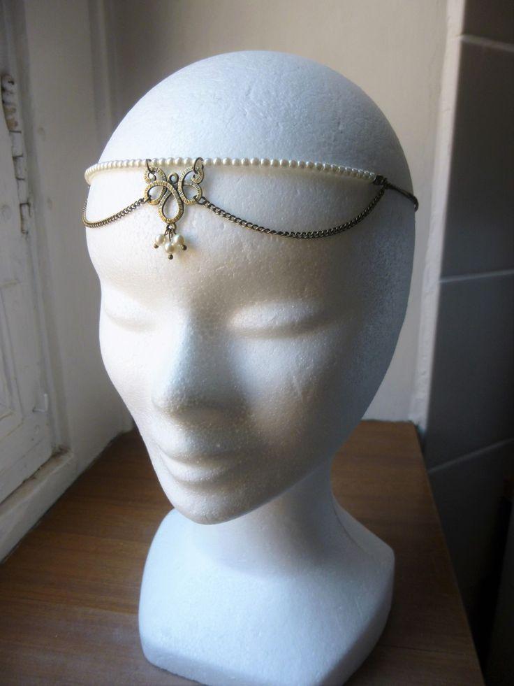 1000 id es sur le th me accessoires de cheveux 1920 sur pinterest bijoux de cheveux gatsby et. Black Bedroom Furniture Sets. Home Design Ideas