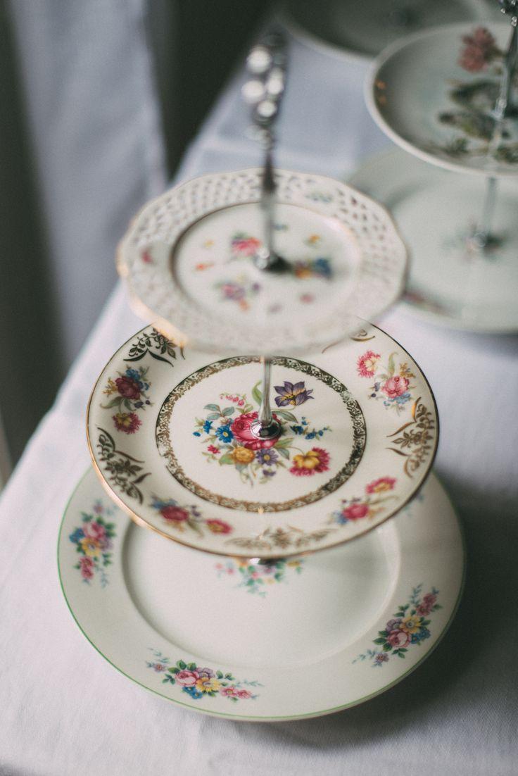 Etagere selber machen - Midsommar-Hochzeit