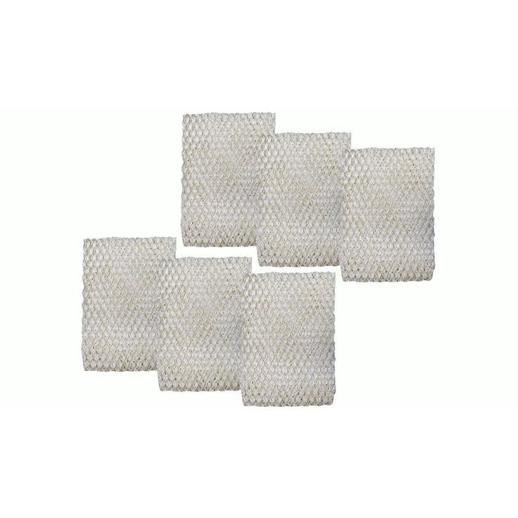 Crucial 6 Holmes HWF100 Humidifier Filters, Part # HWF100