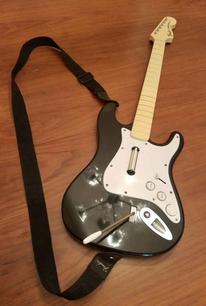 Rock Band FENDER STRATOCASTER 822151 Sony Playstation Guitar Hero | Video Games & Consoles, Video Game Accessories, Controllers & Attachments | eBay!