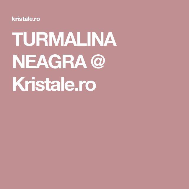 TURMALINA NEAGRA @ Kristale.ro