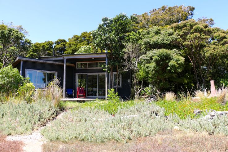 The Library Bach - A special place people love! in Pakawau Beach, Golden Bay | Bookabach