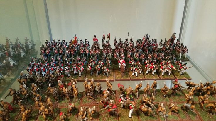 War of 1812 Upper Canada defense force. British Regulars anchored around the 41st Regiment of Foot, Canadian Embodied and Sedentary Militia and Native infantry prepare for battle. 28mm Wargames figures from Essex, Knuckleduster, Wargames Foundry, an Old Glory miniatures.