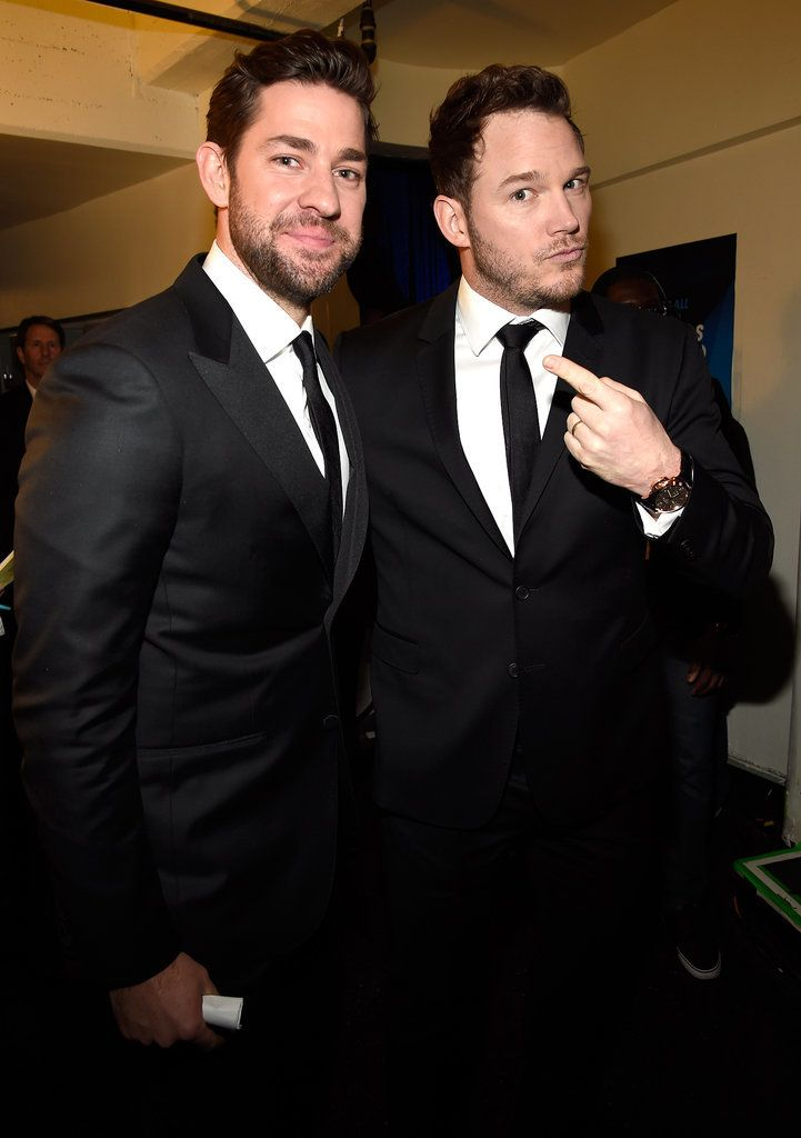 Can you handle all the hotness? John Krasinski and Chris Pratt are just one of the adorable duos at tonight's Critics' Choice Awards!
