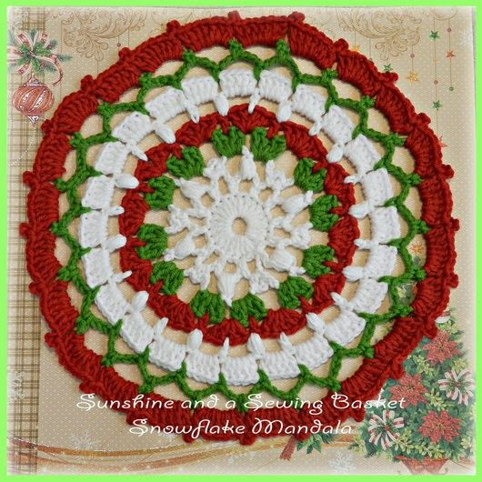 Free Crochet Pattern Christmas Doily : 17 Best images about Grandmas Crochet Doilies on ...