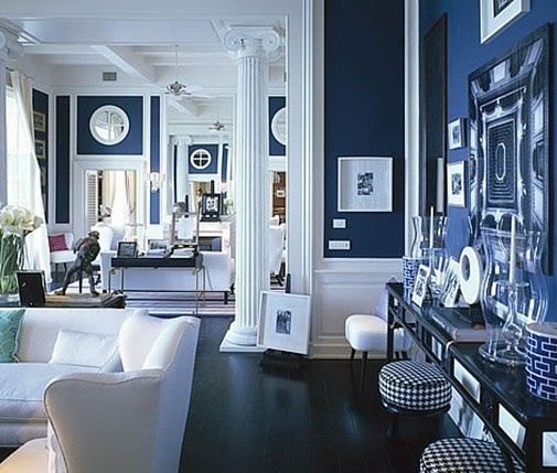 Nautical Themed Decor Navy White Are The Perfect Combination
