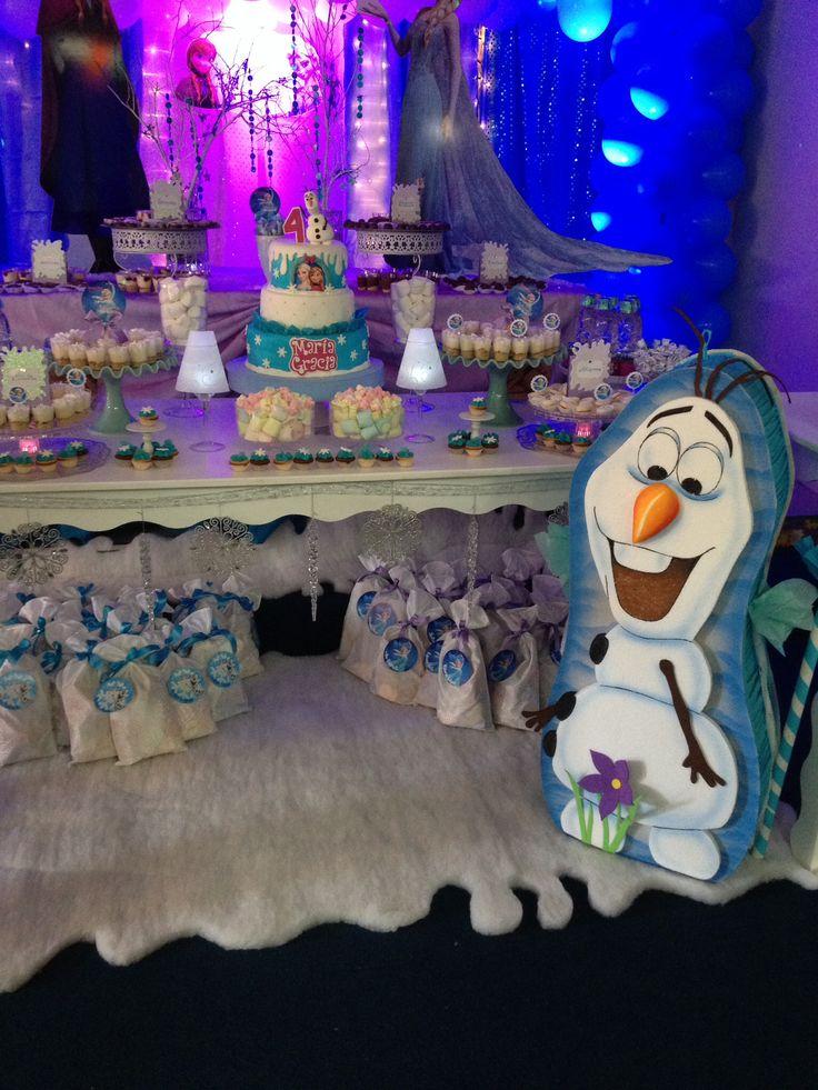 Frozen decoracion piñata olaf