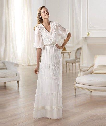 Прямое свадебное платье Omaira