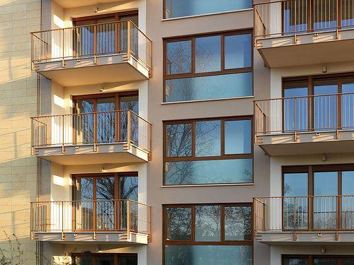 Condominio con finestre Fossati