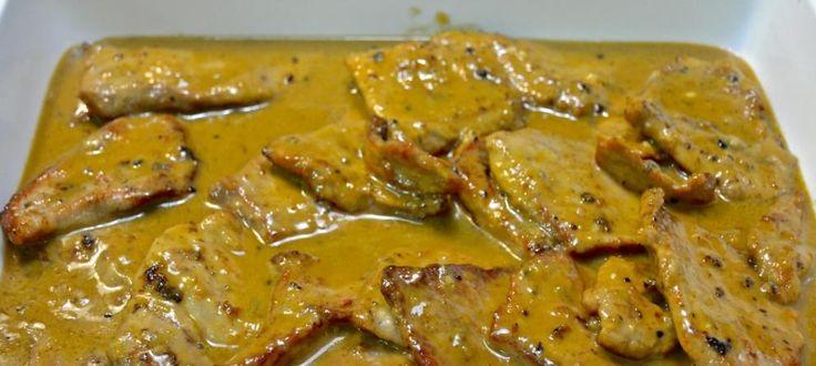 Escalopines de ternera al roquefort - Blogs de La cocina de Paloma de la Rica