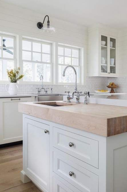 farmhouse kitchen island with sink butcher blocks 49 trendy ideas kitchen island with sink on kitchen island ideas with sink id=70398