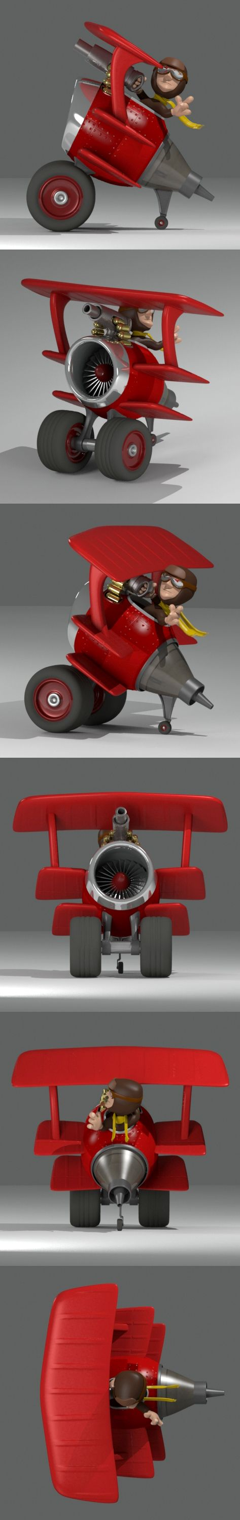 Triplane by Trace Conkle, via Behance