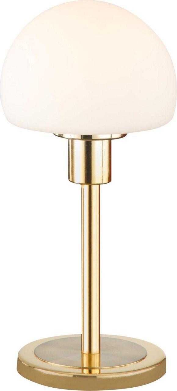 Diese Tischleuchte ist einfach wunderschön! Das fest integrierteLED - Leuchtmittel erhellt Ihren Raum ca. 30.000 Stunden lang mit stimmungsvollem, warmweißem Licht. Dadurch, dass die Leuchte dimmbar ist, können Sie die Atmosphäre je nach Laune variieren. Die Kombination von mattem sowie poliertem Messing und weißem Opalglas schafft ein besonders elegantes Gesamtbild. Diese Tischleuchte ist ein edles Detail für Ihre Einrichtung!